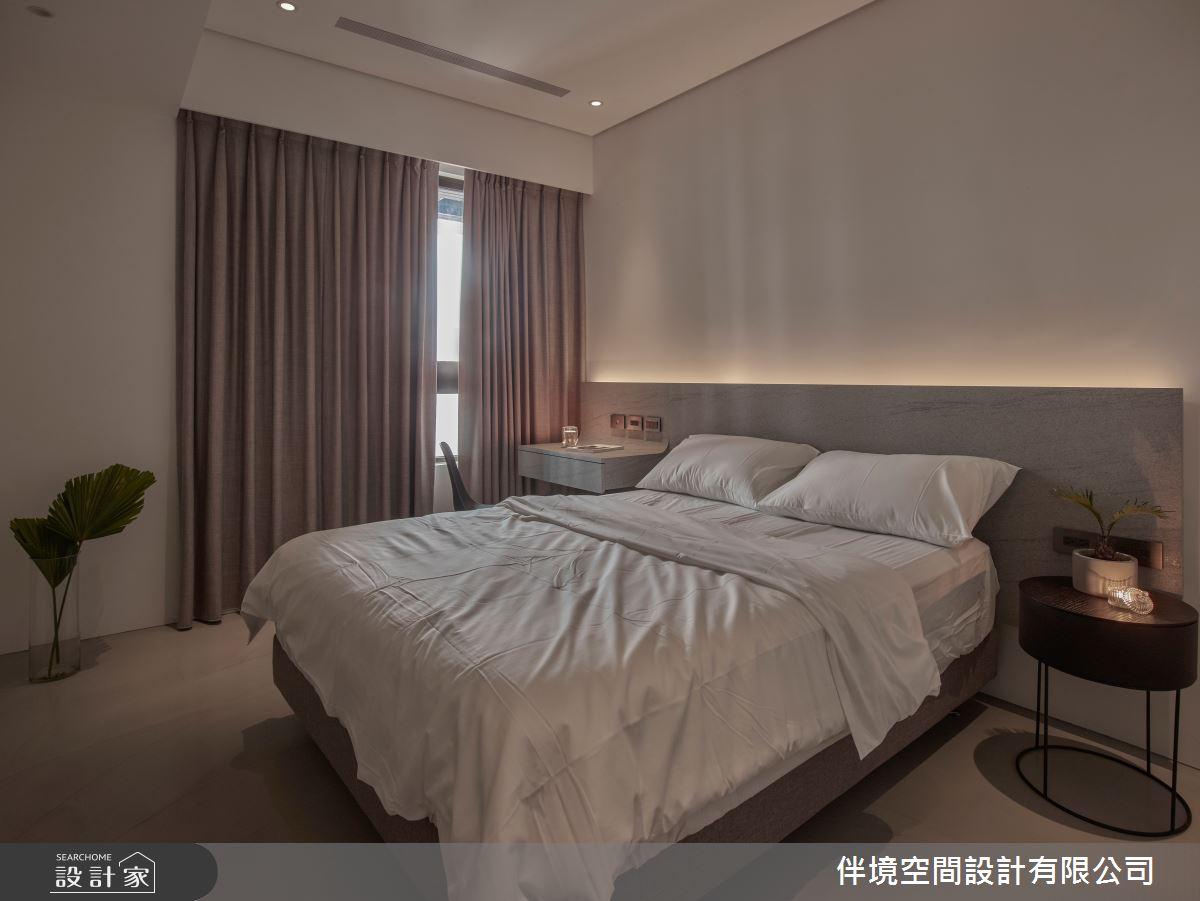 20坪新成屋(5年以下)_混搭風臥室案例圖片_伴境空間設計有限公司_伴境_06之8