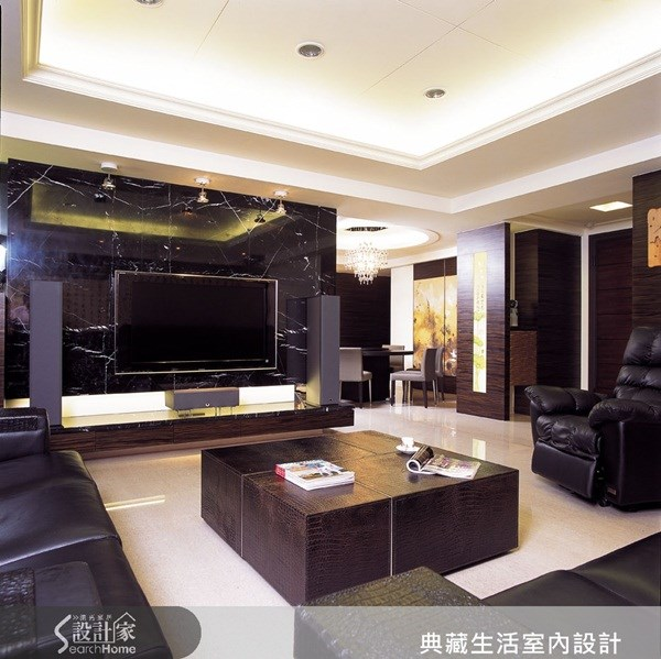 52坪新成屋(5年以下)_新中式風案例圖片_典藏生活室內設計_典藏_11之2