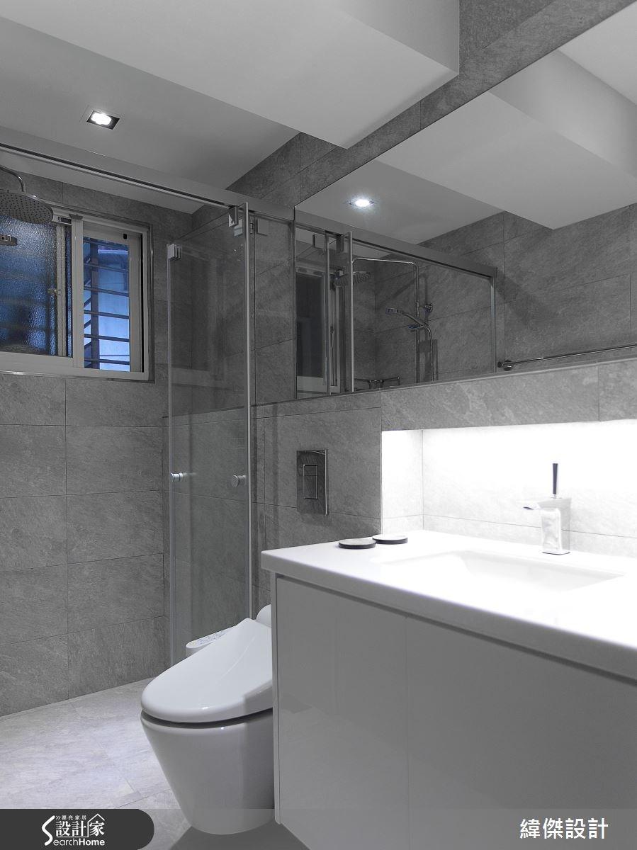 32坪老屋(16~30年)_北歐風浴室案例圖片_緯傑設計_緯傑_02之20