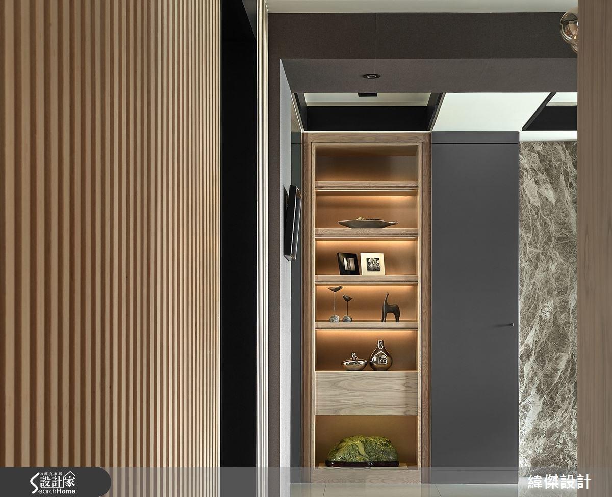 28坪新成屋(5年以下)_現代風玄關案例圖片_緯傑設計_緯傑_03之4