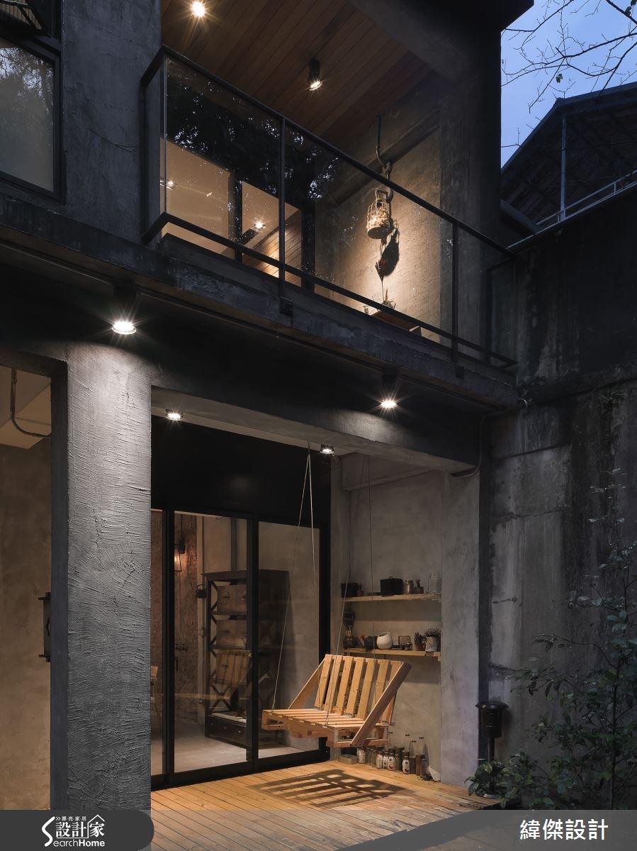 80坪老屋(16~30年)_工業風庭院案例圖片_緯傑設計_緯傑_04之1