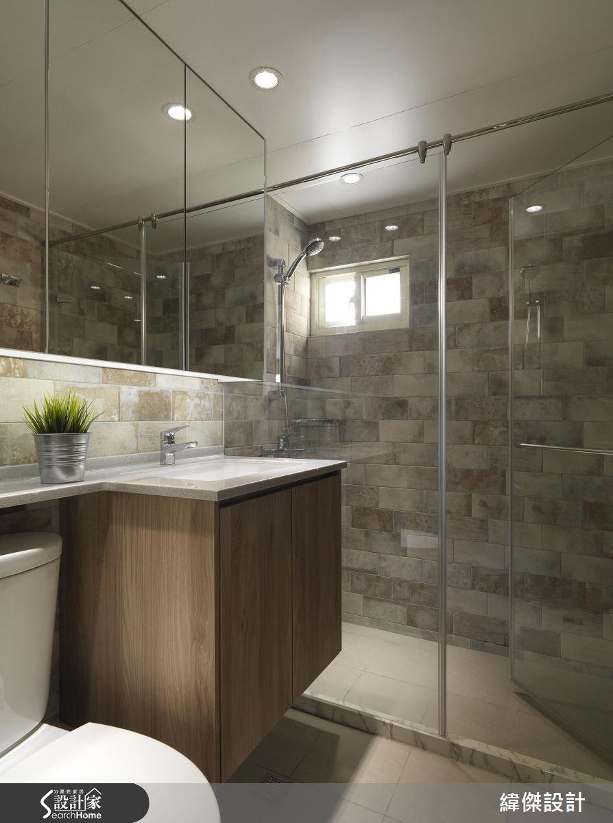 28坪老屋(16~30年)_現代風浴室案例圖片_緯傑設計_緯傑_06之29