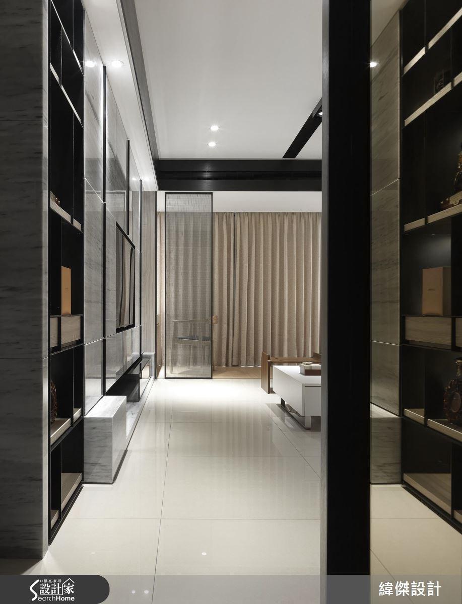 27坪新成屋(5年以下)_新中式風客廳案例圖片_緯傑設計_緯傑_07之3