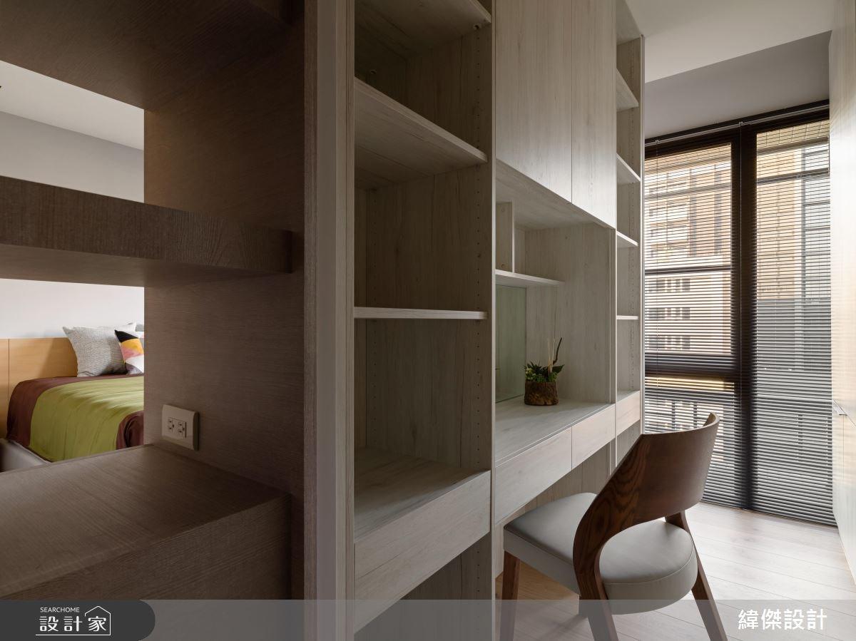 30坪中古屋(5~15年)_混搭風臥室案例圖片_緯傑設計_緯傑_10之10