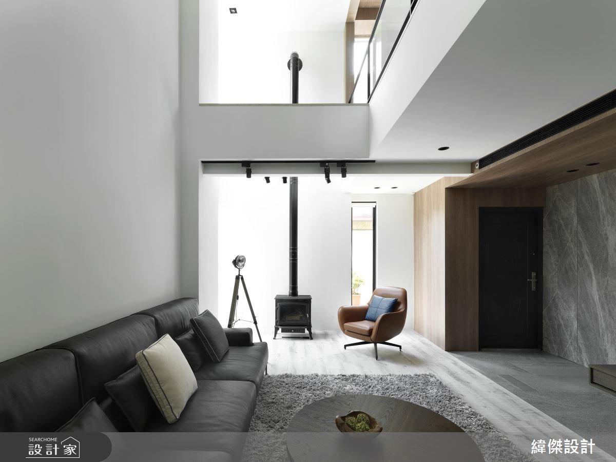 101坪老屋(16~30年)_休閒風客廳案例圖片_緯傑設計_緯傑_11之2