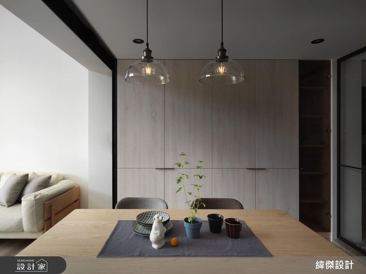 28坪老屋(16~30年)_混搭風餐廳案例圖片_緯傑設計_緯傑_12之3