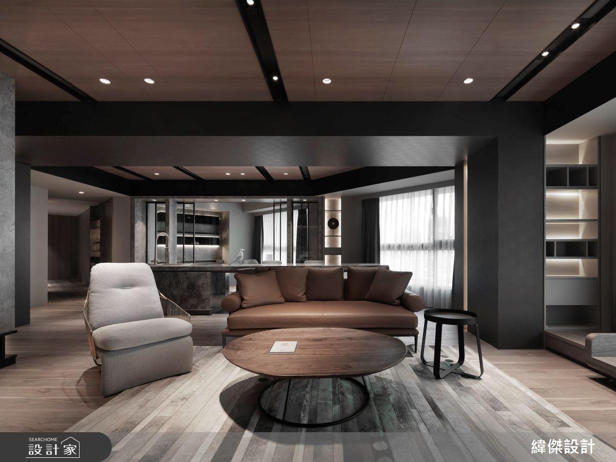 50坪新成屋(5年以下)_現代風案例圖片_緯傑設計_緯傑_14之1