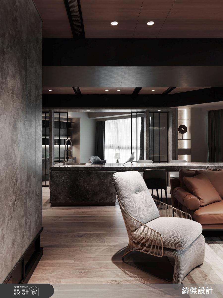 50坪新成屋(5年以下)_現代風案例圖片_緯傑設計_緯傑_14之2