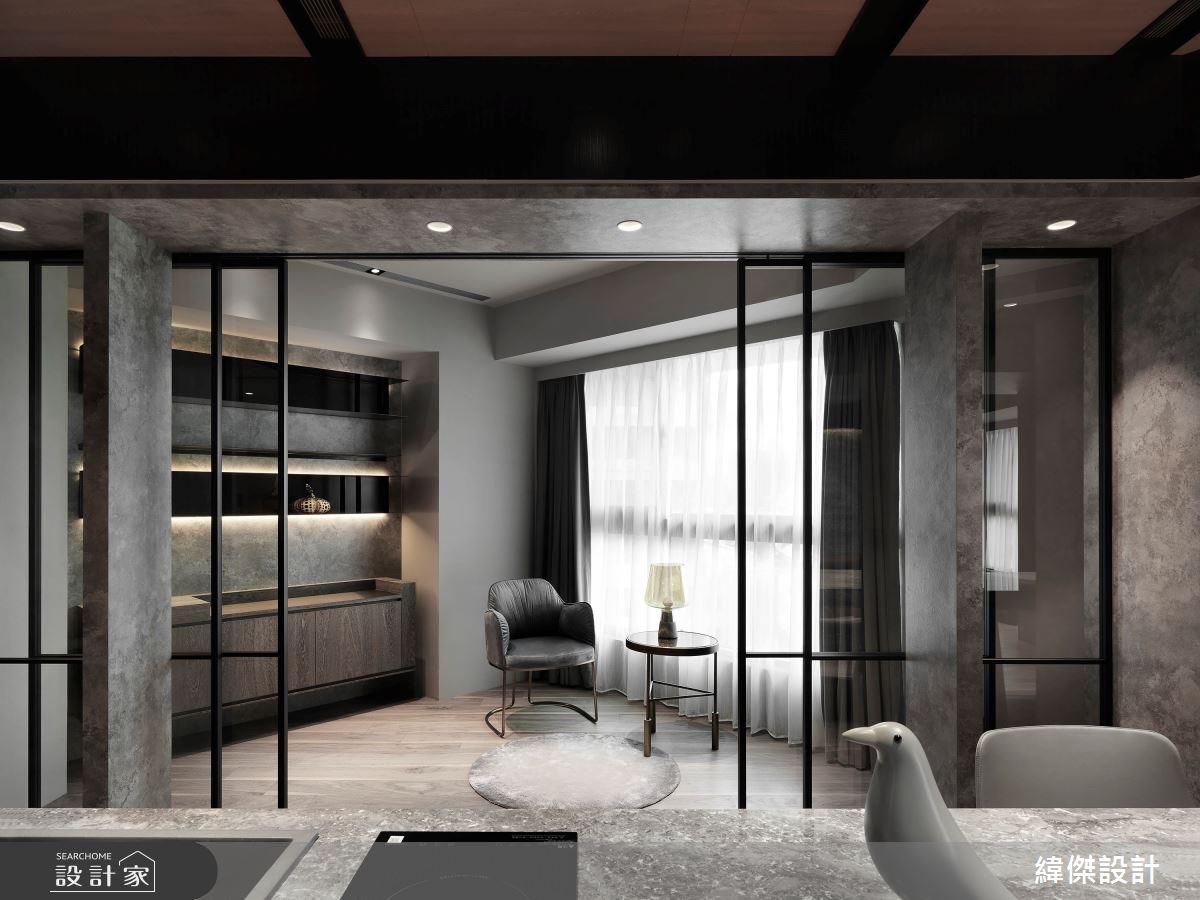 50坪新成屋(5年以下)_現代風案例圖片_緯傑設計_緯傑_14之3
