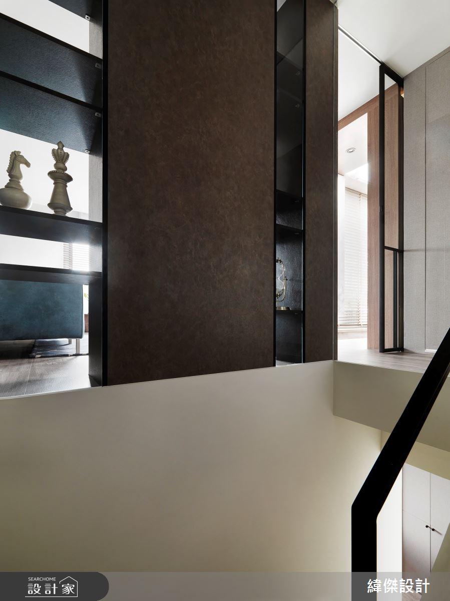 36坪老屋(16~30年)_休閒風樓梯案例圖片_緯傑設計_緯傑_17之27