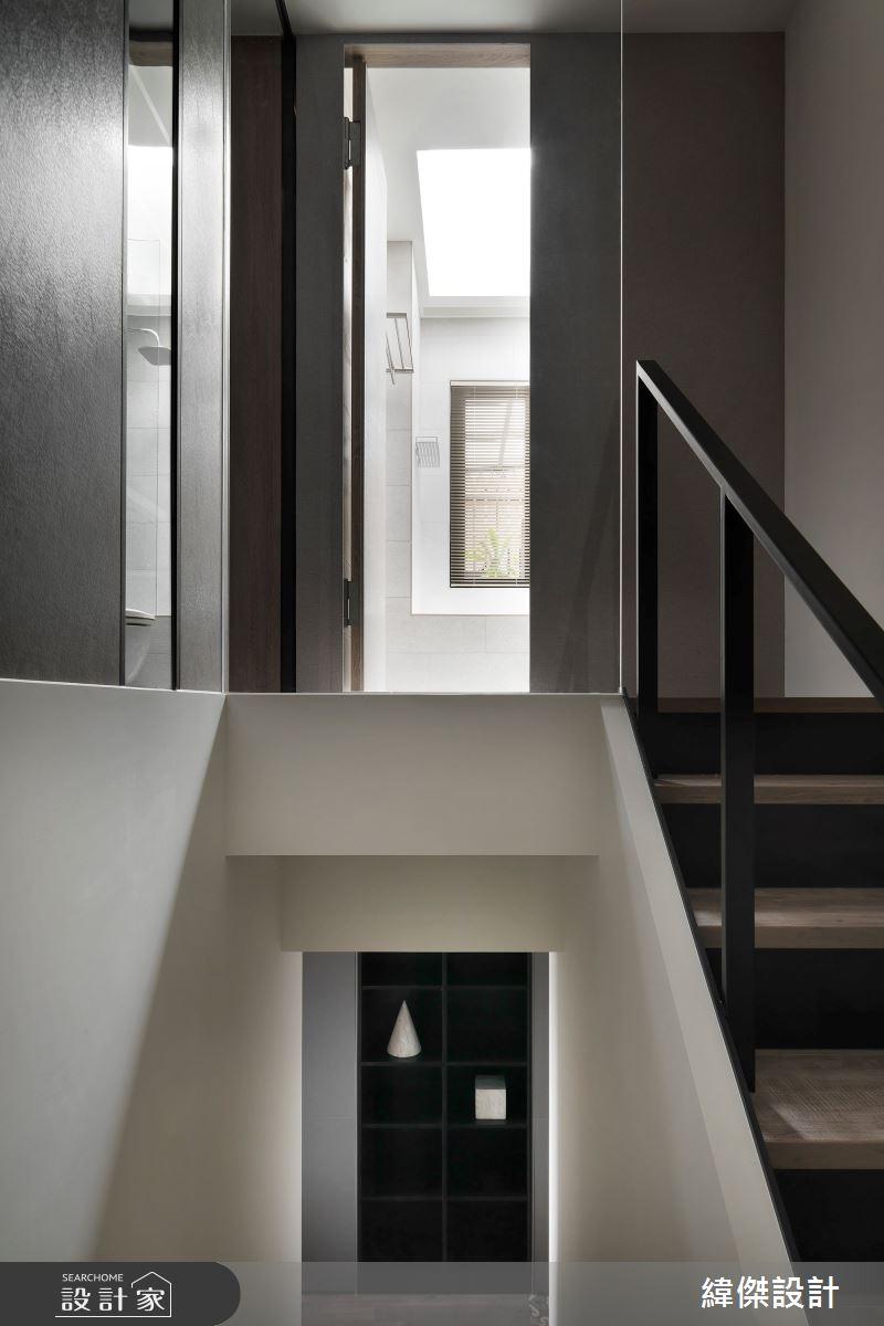 36坪老屋(16~30年)_休閒風樓梯案例圖片_緯傑設計_緯傑_17之28