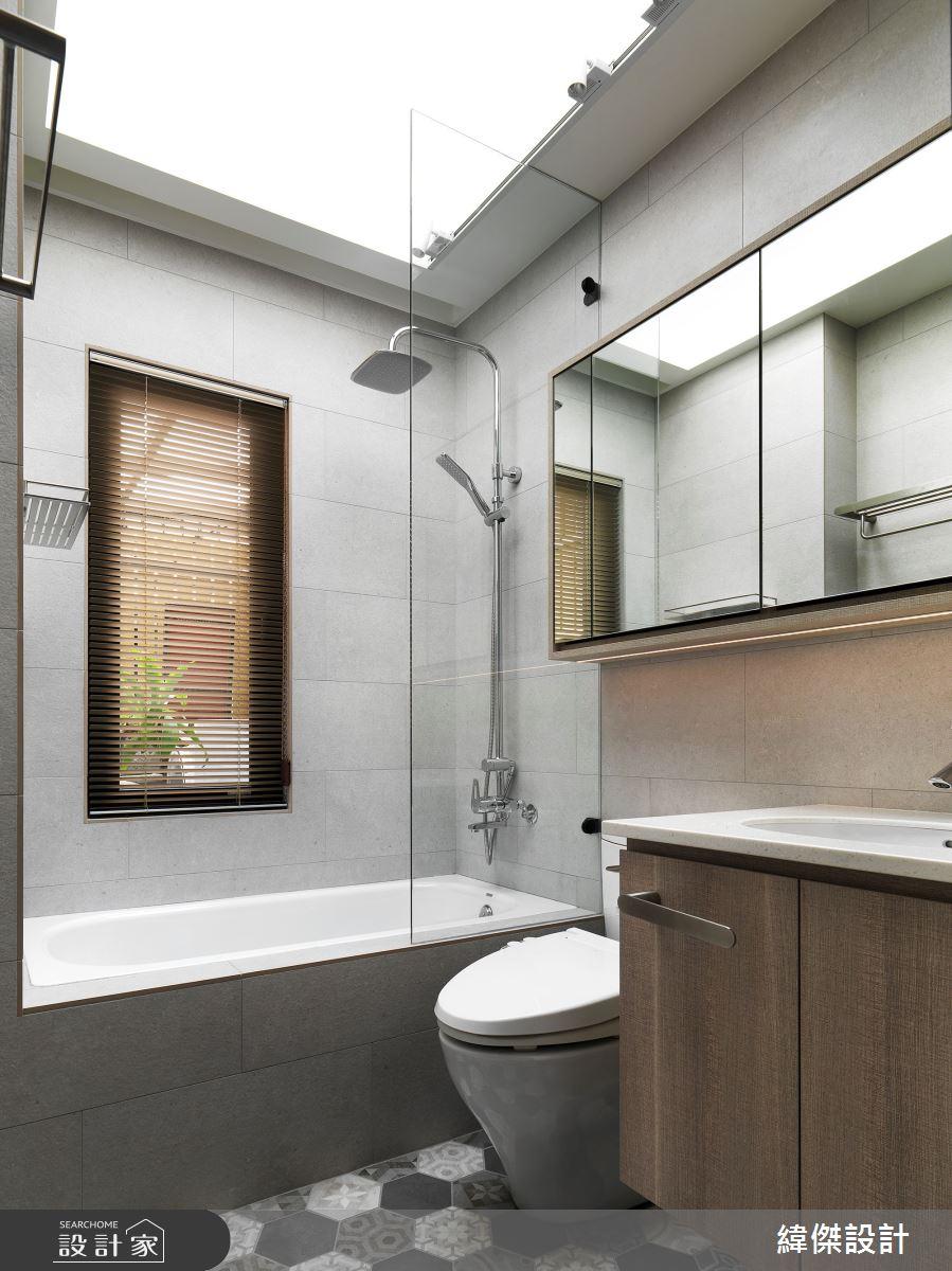 36坪老屋(16~30年)_休閒風浴室案例圖片_緯傑設計_緯傑_17之24