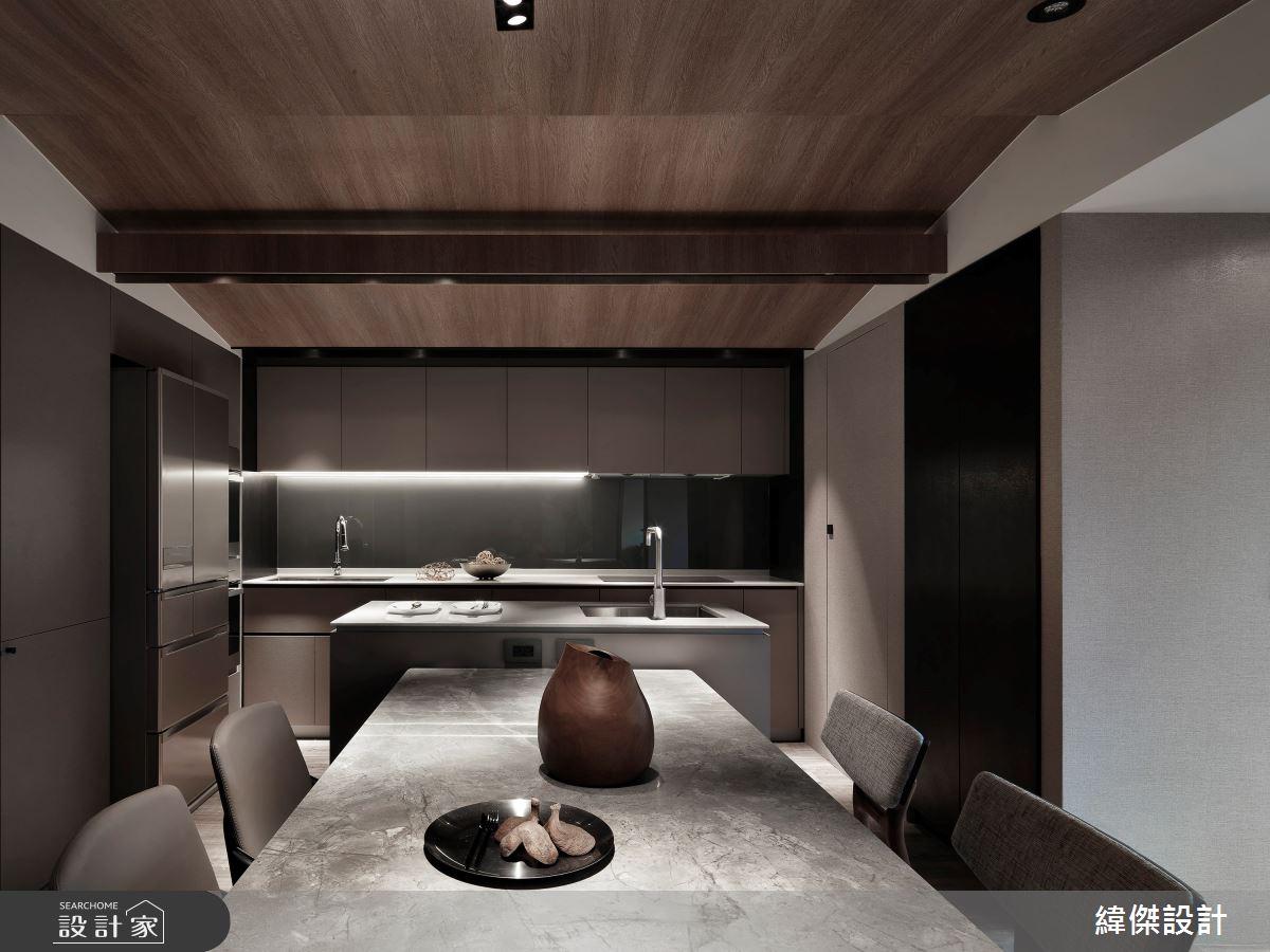 36坪老屋(16~30年)_休閒風餐廳吧檯案例圖片_緯傑設計_緯傑_17之14