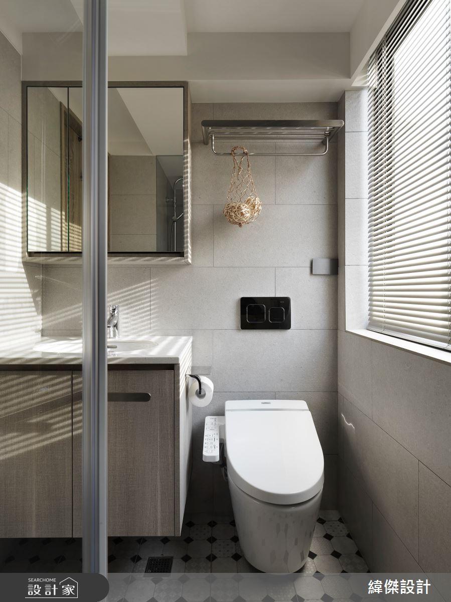 36坪老屋(16~30年)_休閒風浴室案例圖片_緯傑設計_緯傑_17之26