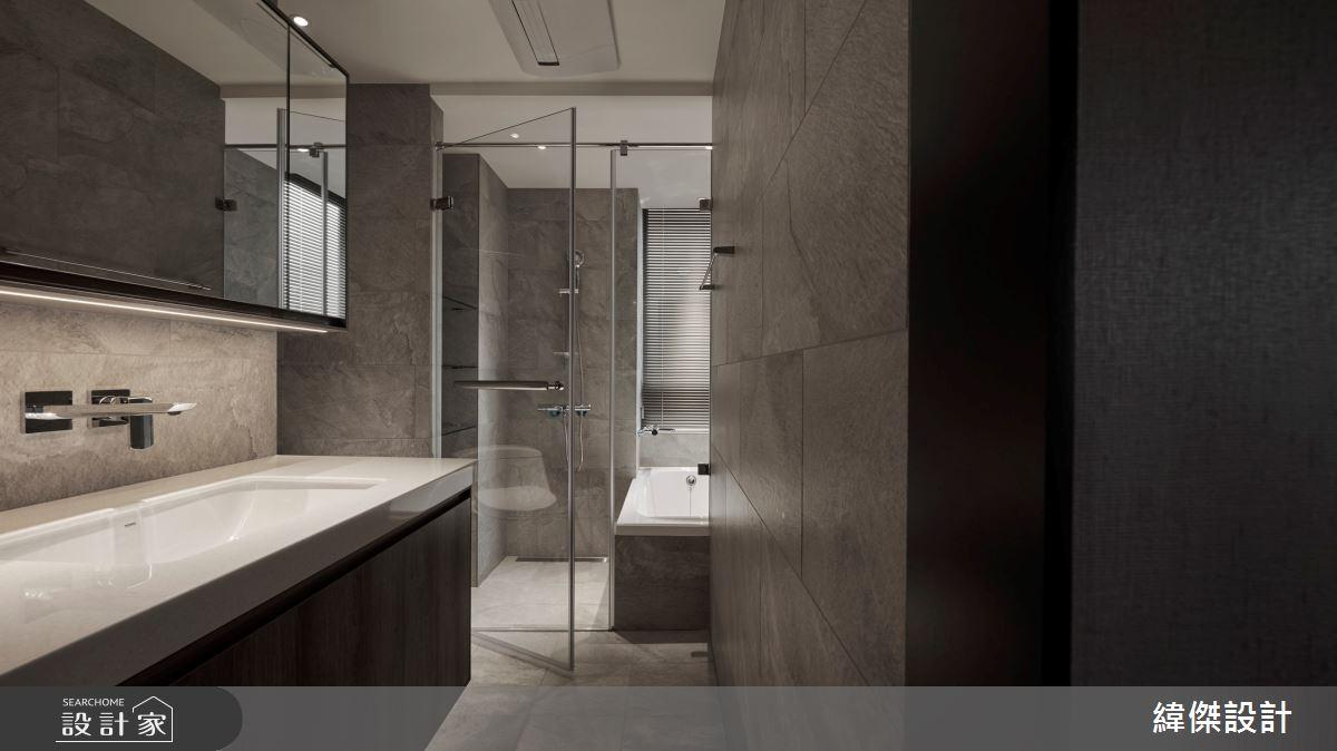 28坪中古屋(5~15年)_奢華風浴室案例圖片_緯傑設計_緯傑_19之6