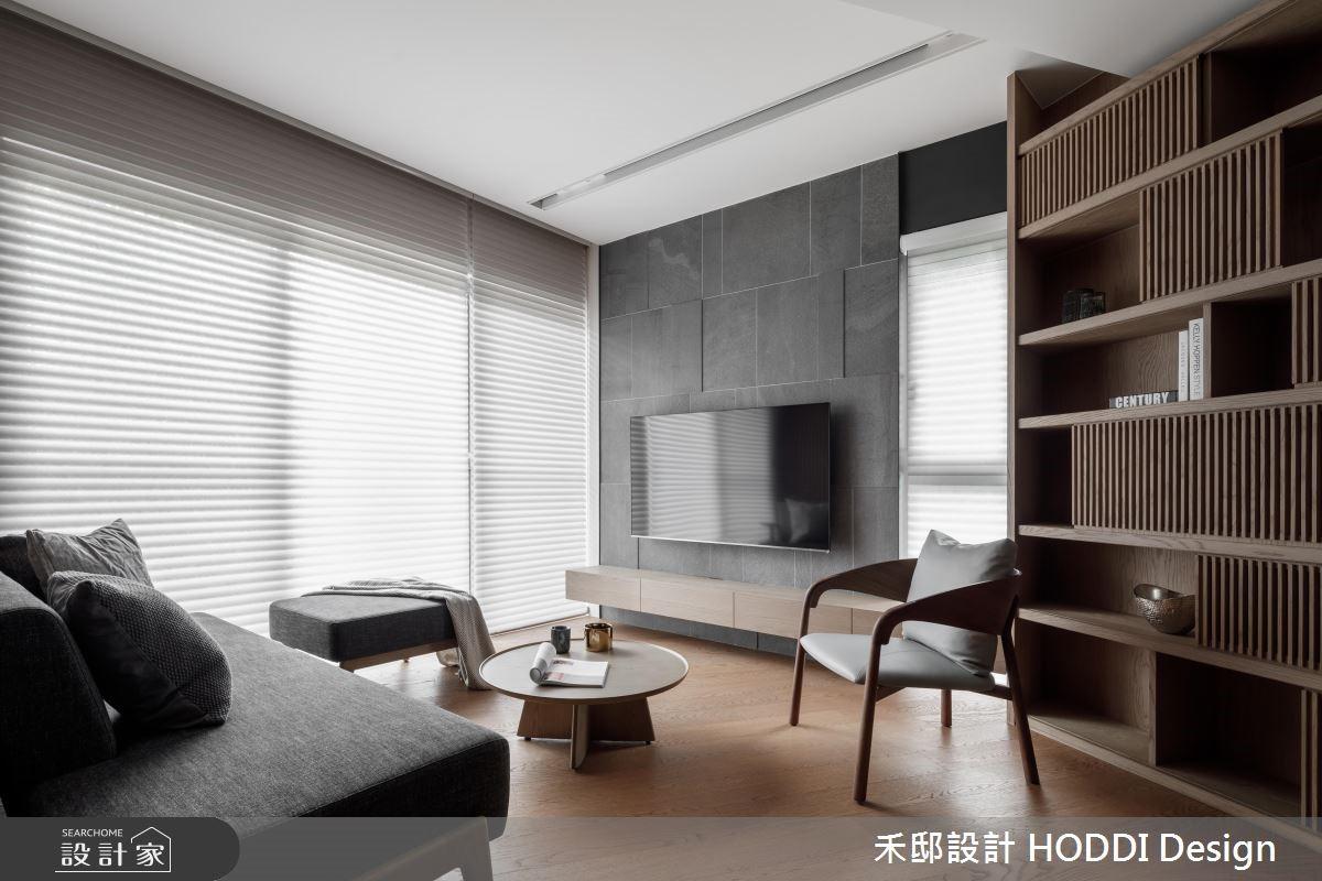 20坪新成屋(5年以下)_現代風客廳案例圖片_禾邸設計 HODDI Design_禾邸_02之2