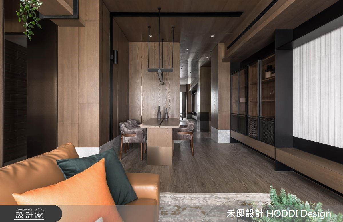 30坪新成屋(5年以下)_奢華風客廳餐廳案例圖片_禾邸設計 HODDI Design_禾邸_04之3