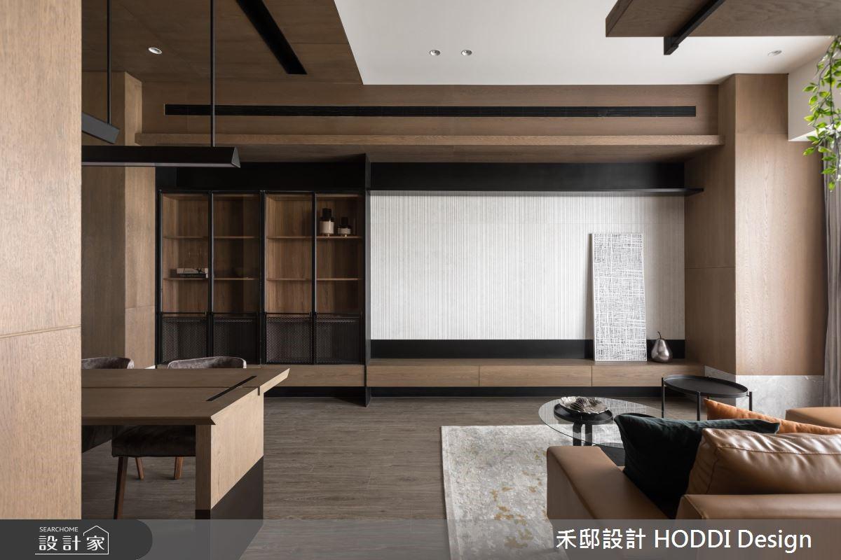 30坪新成屋(5年以下)_奢華風客廳案例圖片_禾邸設計 HODDI Design_禾邸_04之1