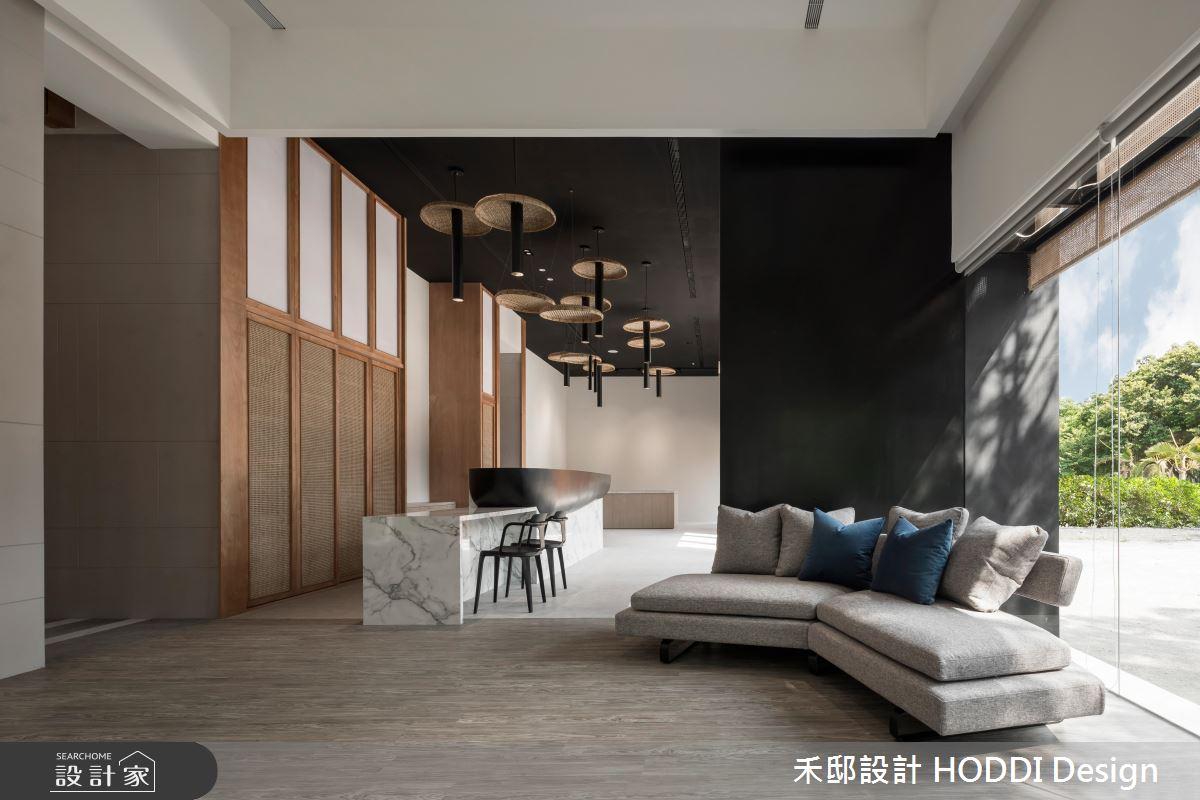 60坪預售屋_新中式風商業空間案例圖片_禾邸設計 HODDI Design_禾邸_05之3