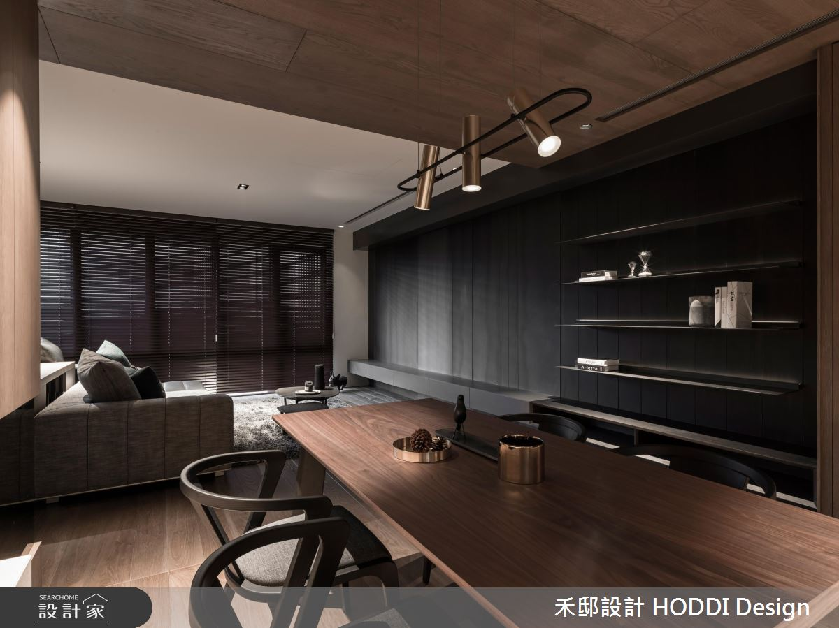 35坪新成屋(5年以下)_現代風餐廳案例圖片_禾邸設計 HODDI Design_禾邸_06之4