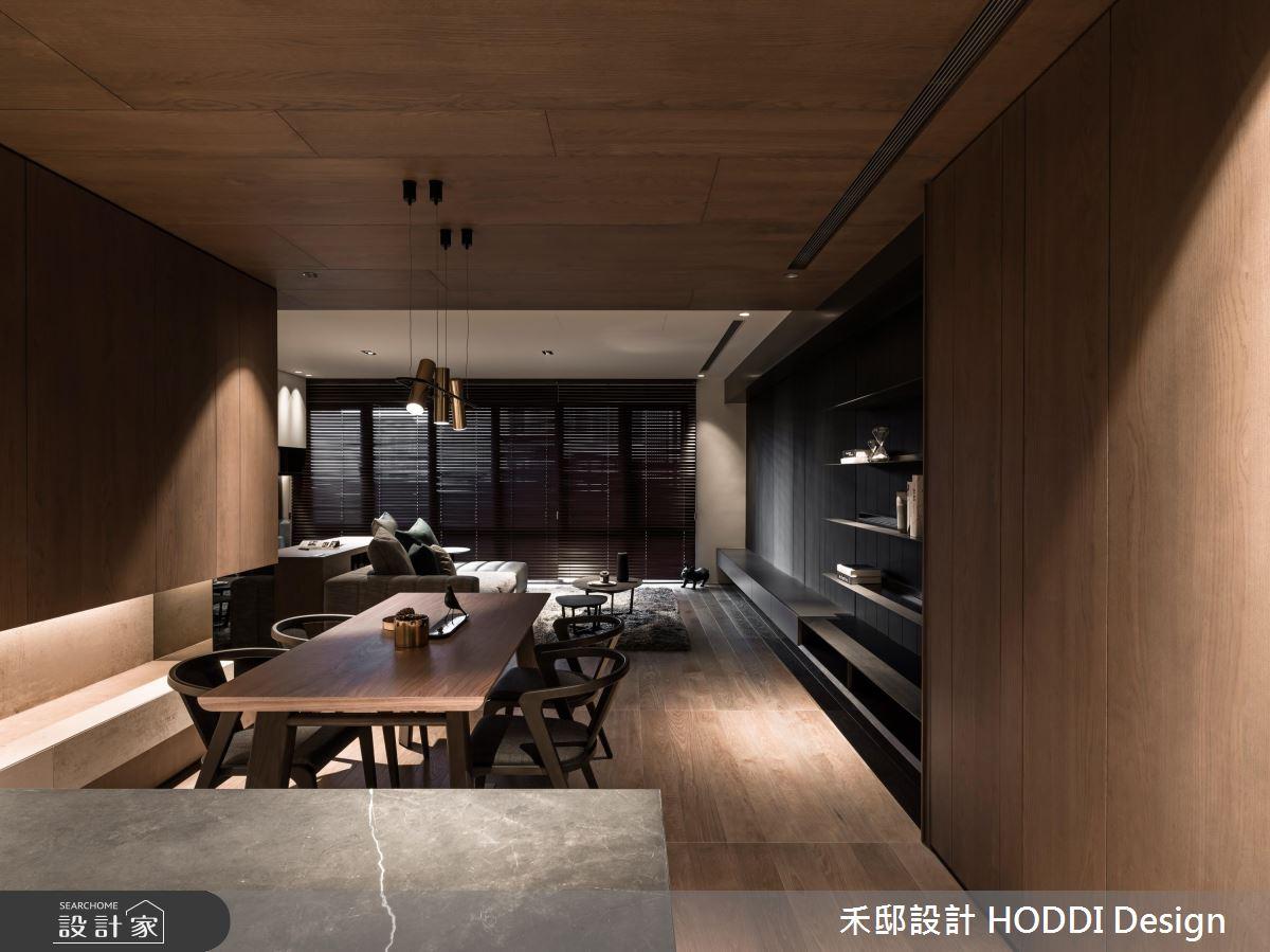 35坪新成屋(5年以下)_現代風餐廳案例圖片_禾邸設計 HODDI Design_禾邸_06之3