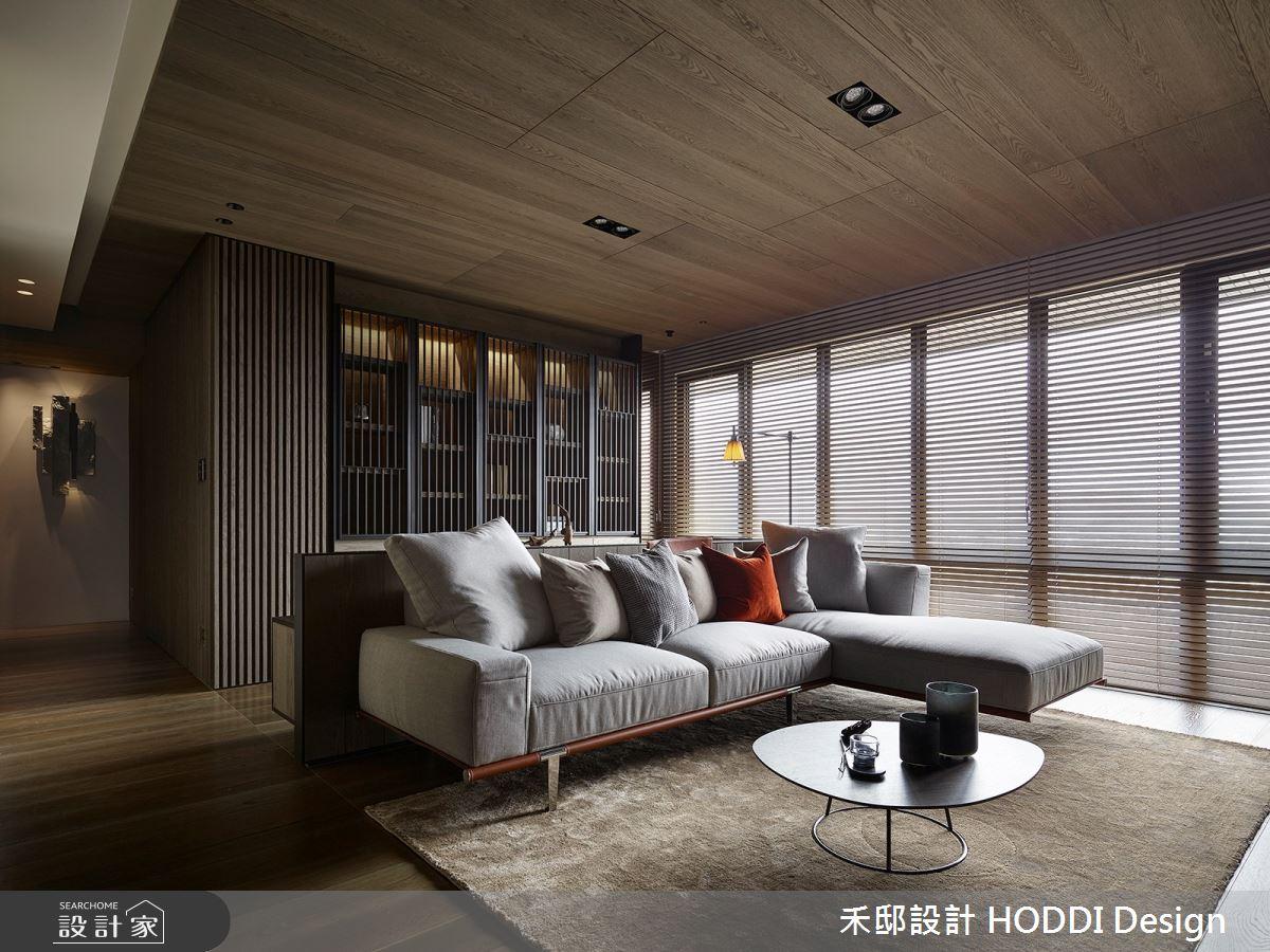40坪新成屋(5年以下)_現代風客廳案例圖片_禾邸設計 HODDI Design_禾邸_07之4