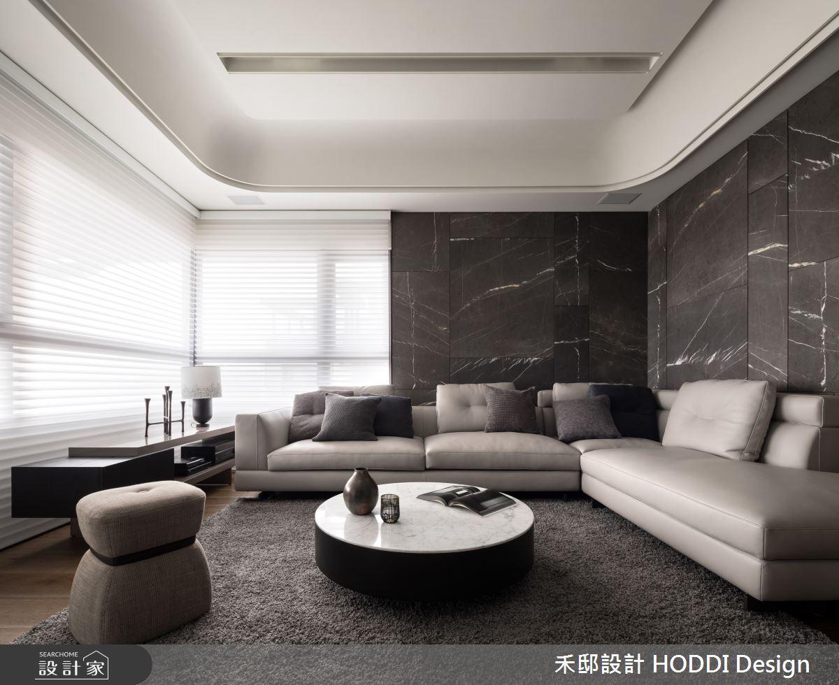 40坪新成屋(5年以下)_新中式風客廳案例圖片_禾邸設計 HODDI Design_禾邸_08之4
