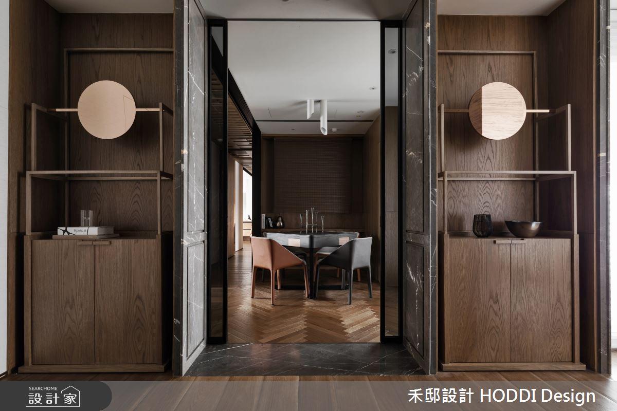 40坪新成屋(5年以下)_新中式風多功能室案例圖片_禾邸設計 HODDI Design_禾邸_08之11