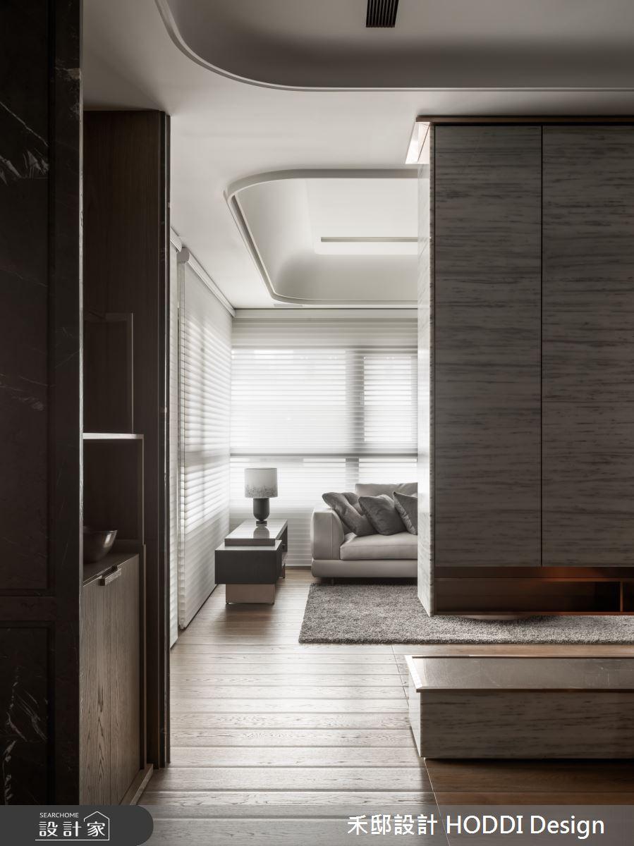 40坪新成屋(5年以下)_新中式風客廳案例圖片_禾邸設計 HODDI Design_禾邸_08之5