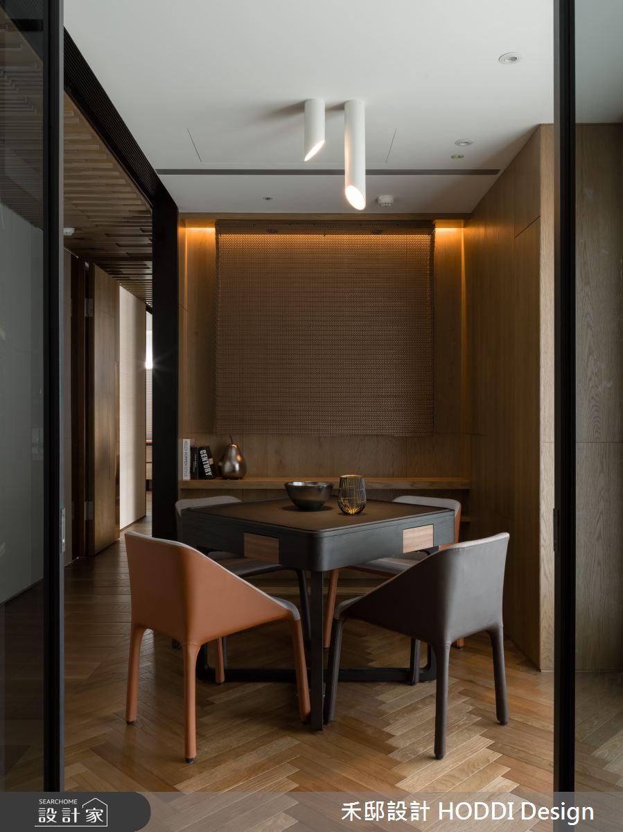 40坪新成屋(5年以下)_新中式風多功能室案例圖片_禾邸設計 HODDI Design_禾邸_08之12