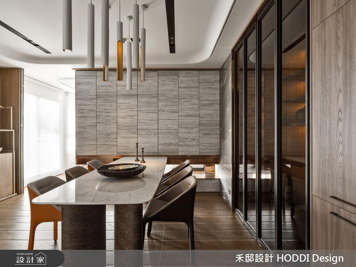 40坪新成屋(5年以下)_新中式風餐廳案例圖片_禾邸設計 HODDI Design_禾邸_08之6