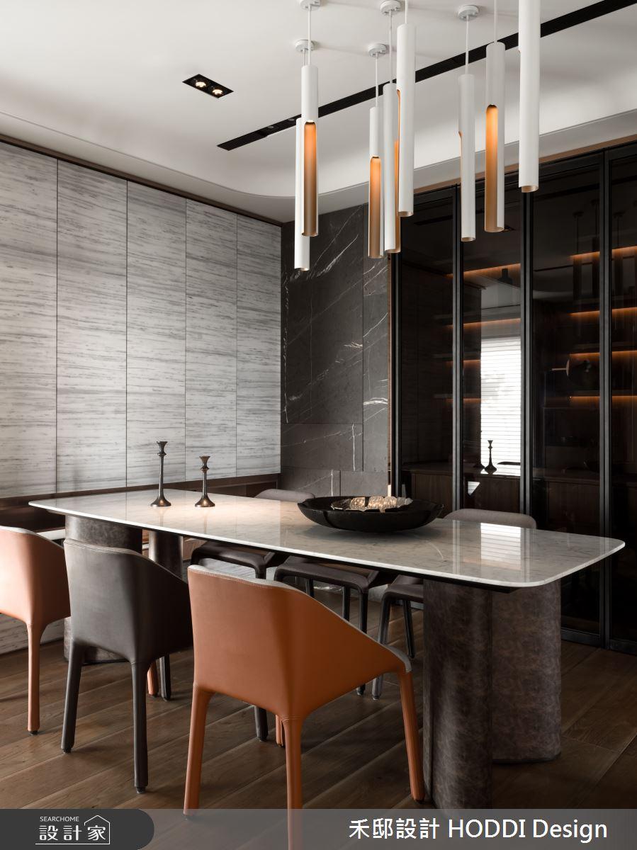 40坪新成屋(5年以下)_新中式風餐廳案例圖片_禾邸設計 HODDI Design_禾邸_08之8