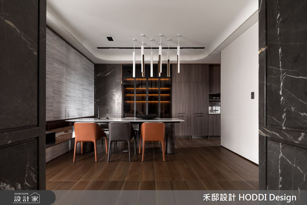 40坪新成屋(5年以下)_新中式風餐廳案例圖片_禾邸設計 HODDI Design_禾邸_08之7