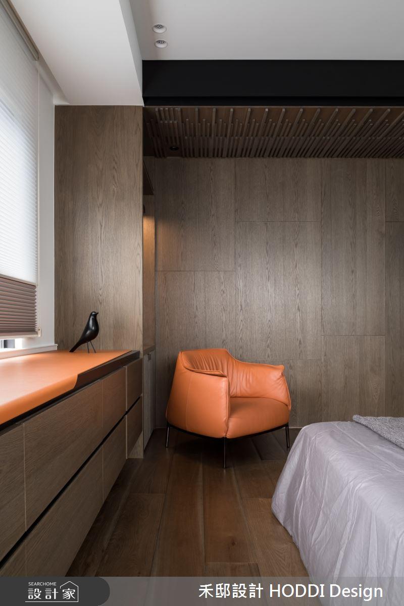 40坪新成屋(5年以下)_新中式風臥室案例圖片_禾邸設計 HODDI Design_禾邸_08之15