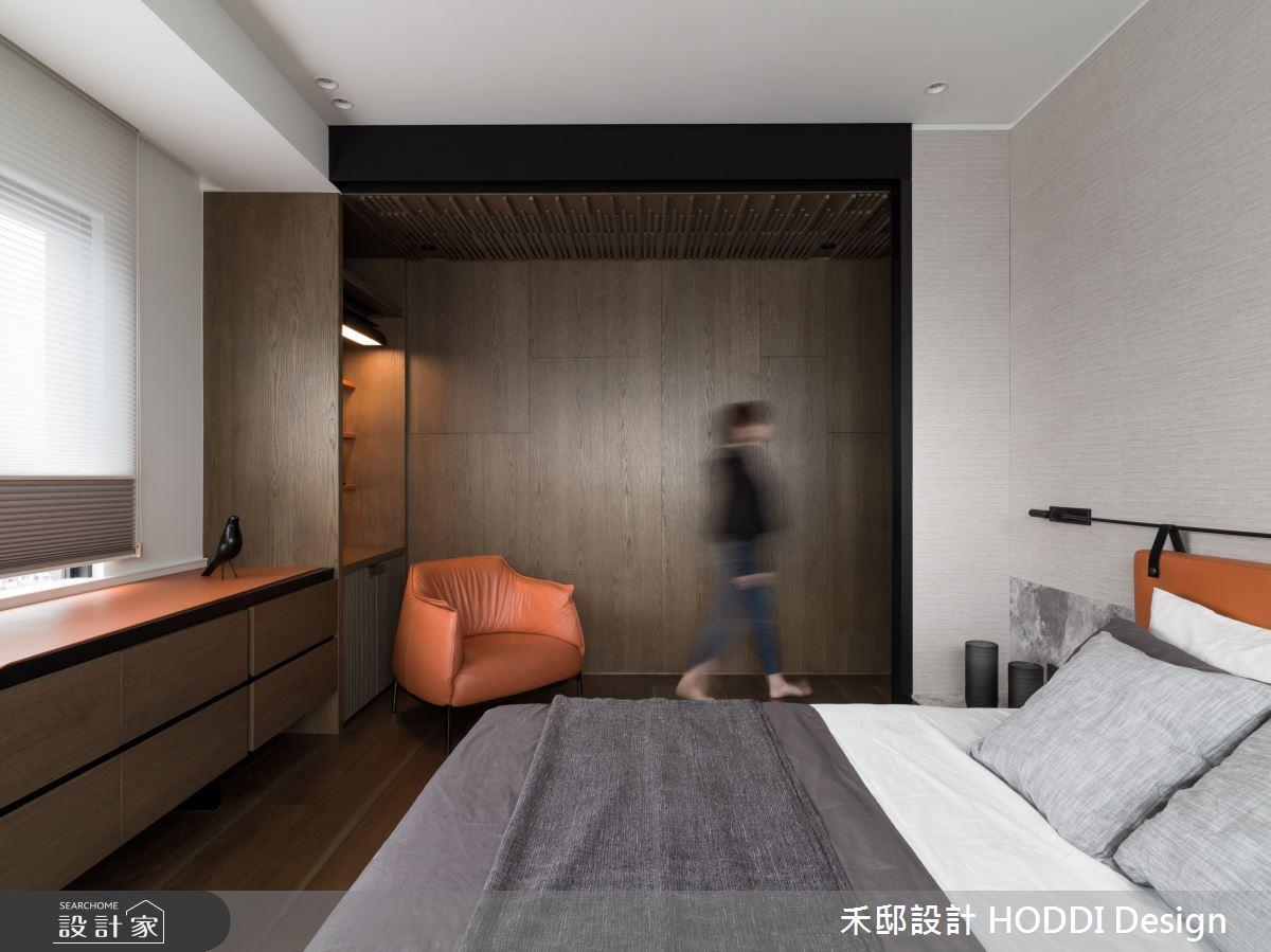 40坪新成屋(5年以下)_新中式風臥室案例圖片_禾邸設計 HODDI Design_禾邸_08之14