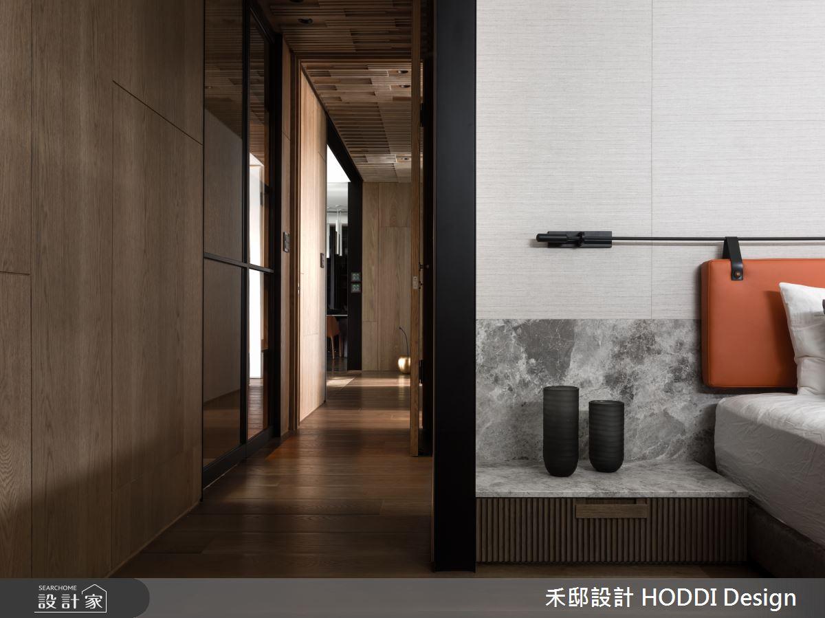 40坪新成屋(5年以下)_新中式風臥室案例圖片_禾邸設計 HODDI Design_禾邸_08之13