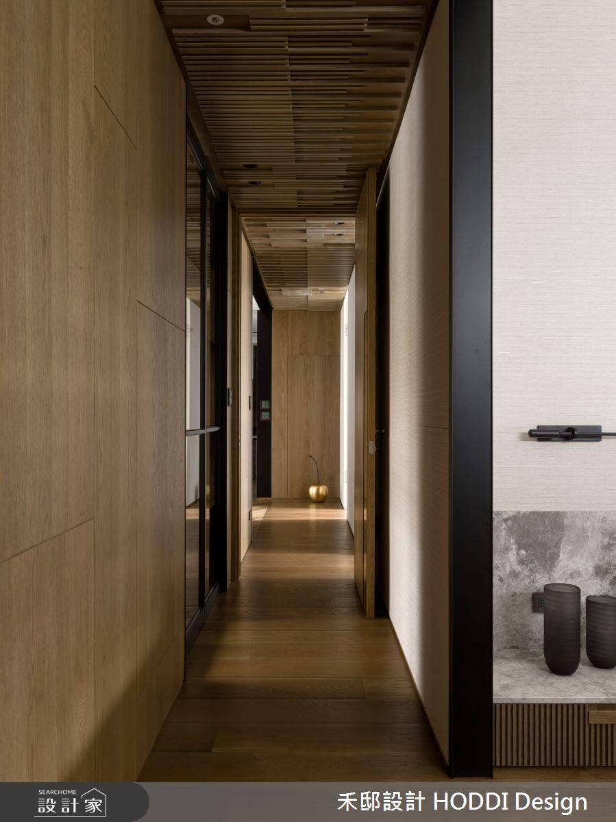 40坪新成屋(5年以下)_新中式風走廊案例圖片_禾邸設計 HODDI Design_禾邸_08之10