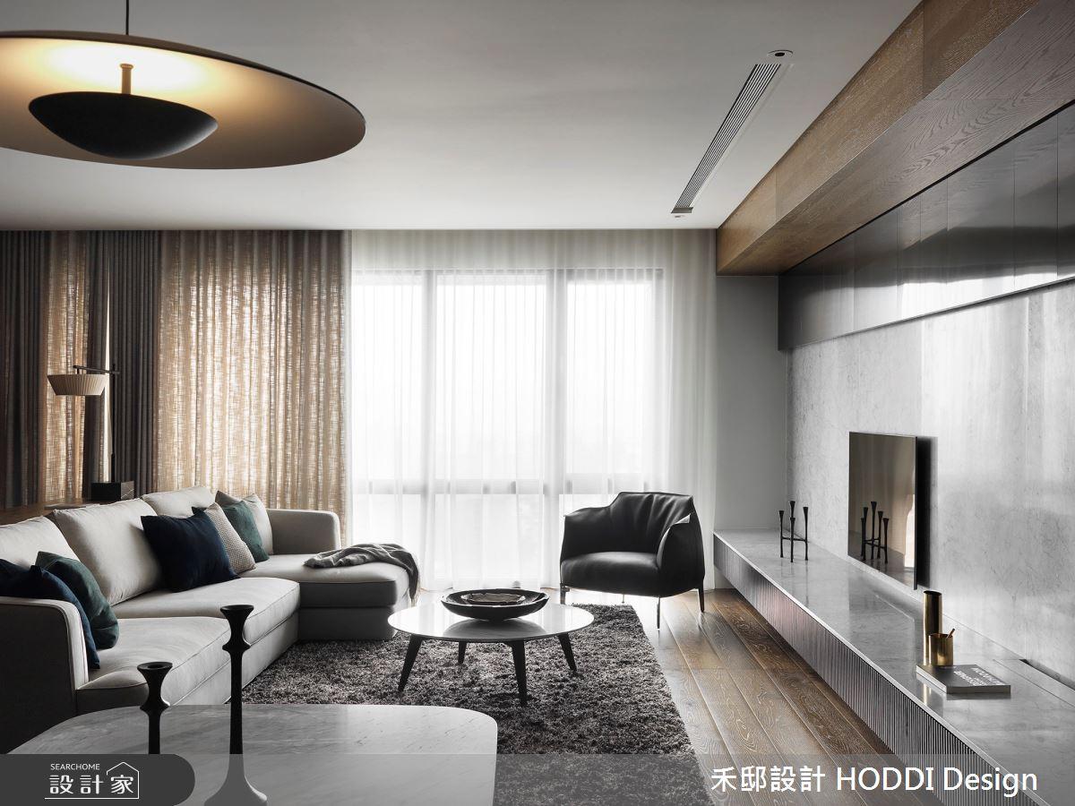 45坪新成屋(5年以下)_現代風客廳案例圖片_禾邸設計 HODDI Design_禾邸_09之1