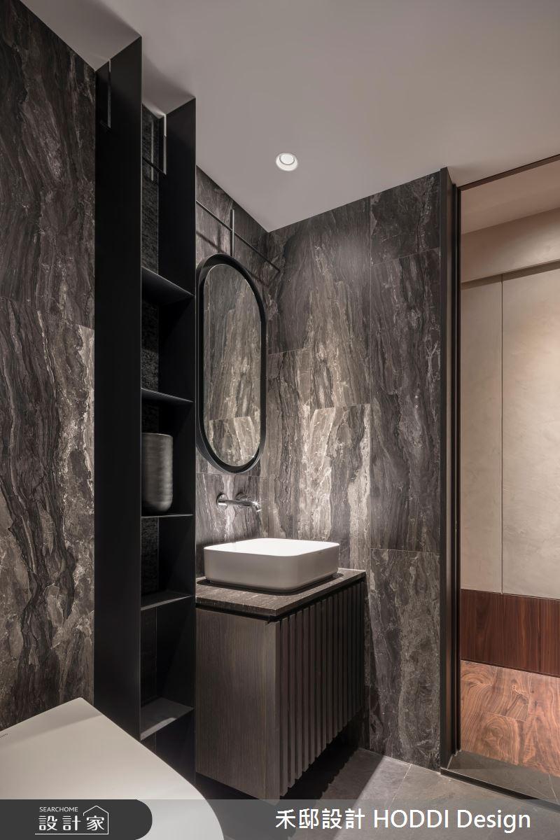 35坪新成屋(5年以下)_現代風浴室案例圖片_禾邸設計 HODDI Design_禾邸_10之21