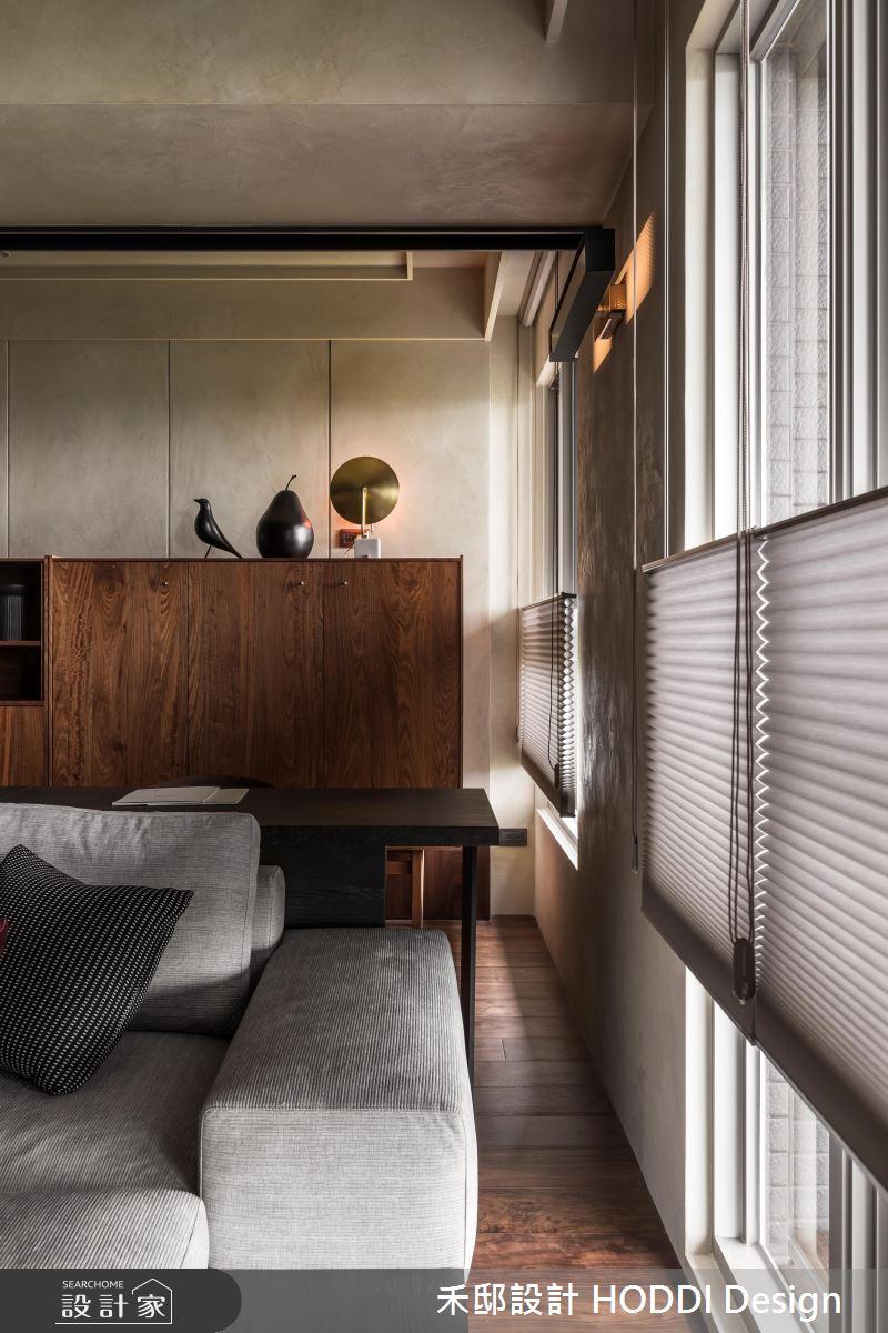 35坪新成屋(5年以下)_現代風客廳案例圖片_禾邸設計 HODDI Design_禾邸_10之5