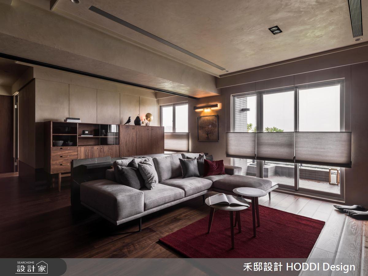 35坪新成屋(5年以下)_現代風客廳案例圖片_禾邸設計 HODDI Design_禾邸_10之2