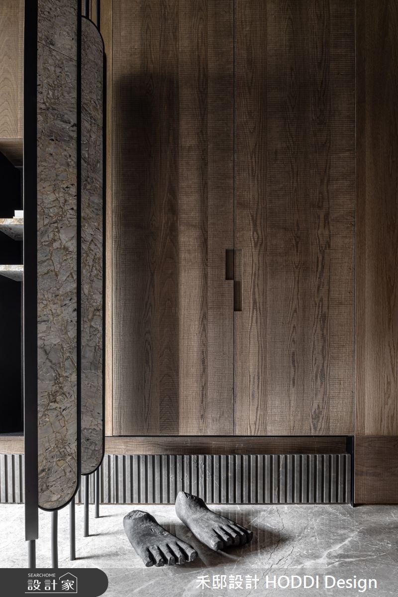 40坪新成屋(5年以下)_混搭風玄關案例圖片_禾邸設計 HODDI Design_禾邸_13之2