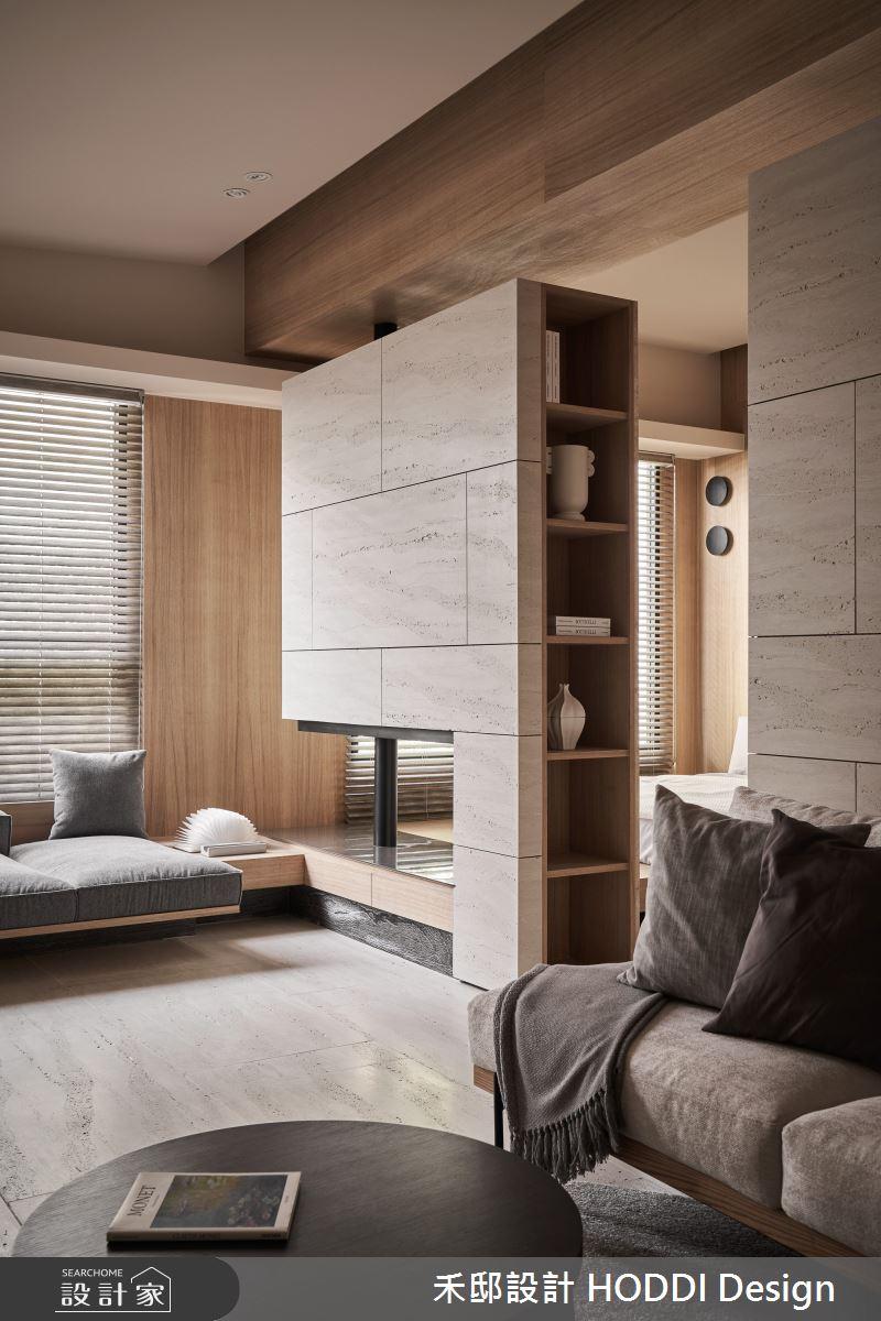 18坪預售屋_現代風客廳案例圖片_禾邸設計 HODDI Design_禾邸_17之2