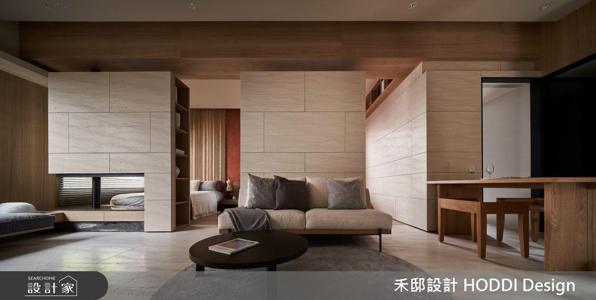 18坪預售屋_現代風客廳餐廳案例圖片_禾邸設計 HODDI Design_禾邸_17之5
