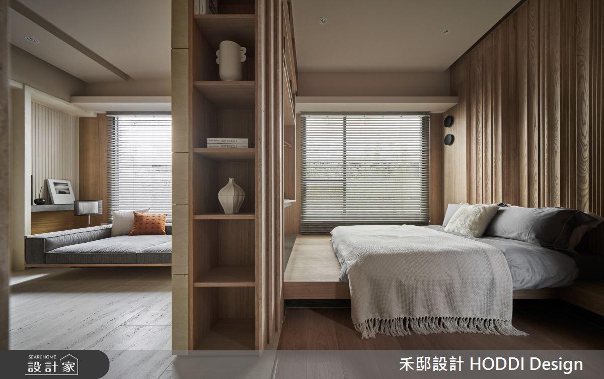 18坪預售屋_現代風客廳臥室案例圖片_禾邸設計 HODDI Design_禾邸_17之12