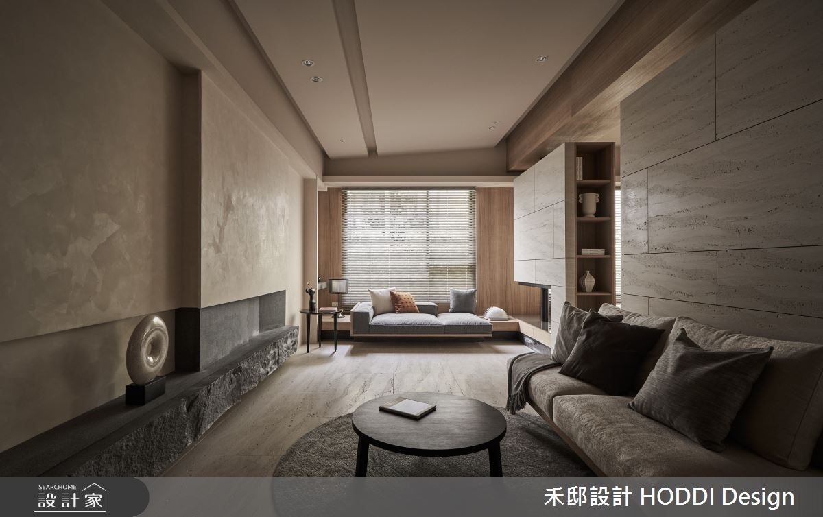 18坪預售屋_現代風客廳案例圖片_禾邸設計 HODDI Design_禾邸_17之1