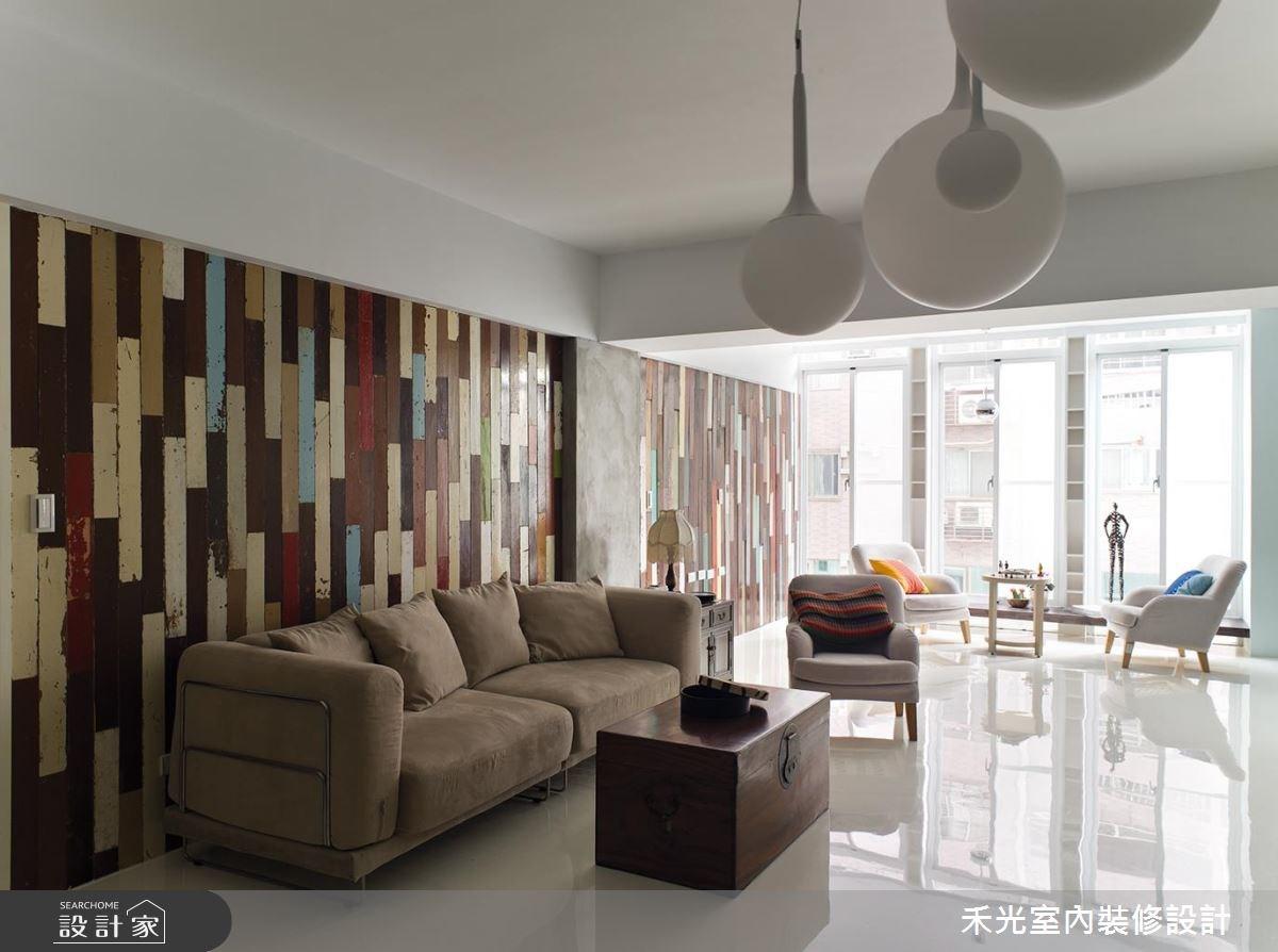 46坪老屋(16~30年)_混搭風案例圖片_禾光室內裝修設計有限公司_禾光_01之2