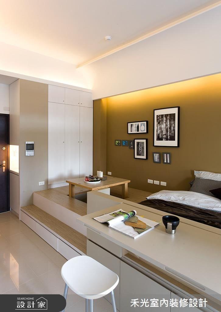 10坪新成屋(5年以下)_簡約風案例圖片_禾光室內裝修設計有限公司_禾光_02之2
