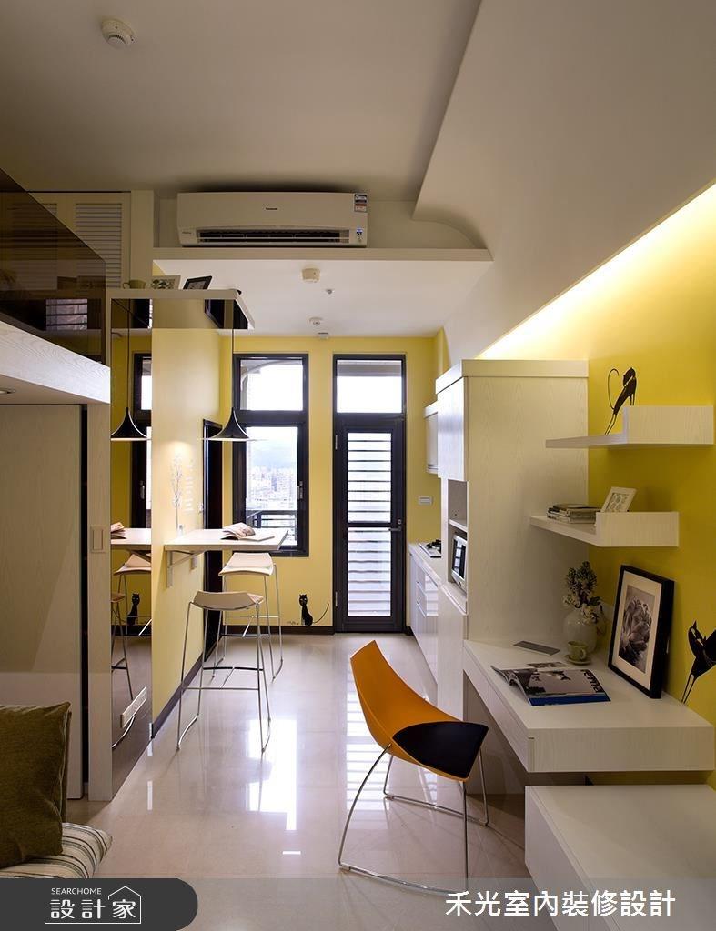 10坪新成屋(5年以下)_簡約風案例圖片_禾光室內裝修設計有限公司_禾光_04之1