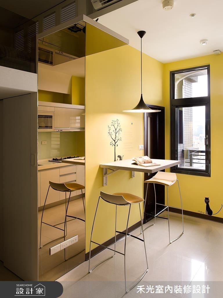 10坪新成屋(5年以下)_簡約風案例圖片_禾光室內裝修設計有限公司_禾光_04之3